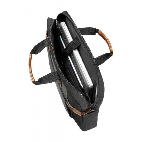 Sideways Laptop Bag 15.6inch Black/Grey