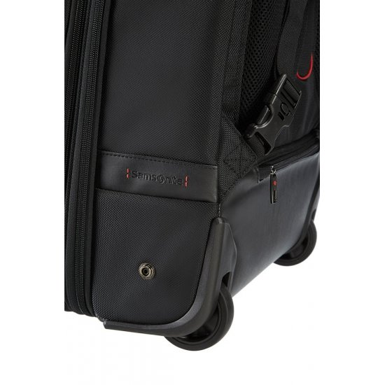 Pro-DLX″ Laptop Backpack with Wheels 43.9cm/17.3inch Black