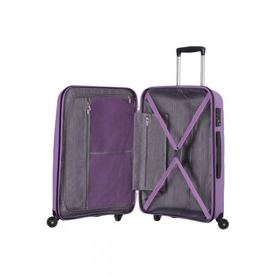 Bon Air 4-wheel cabin baggage Spinner suitcase 55cm Lilac