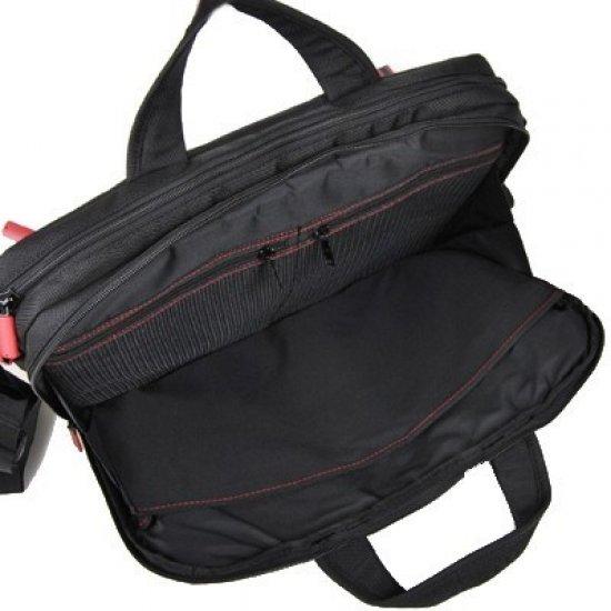 Чанта Flexxea за 14-16 инча лаптоп цвят черно/червено