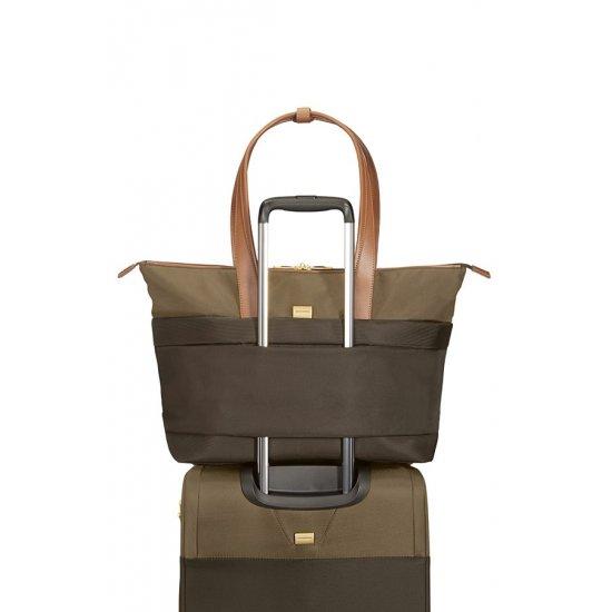 Чанта-сак Streamlife цвят маслина/кафяв