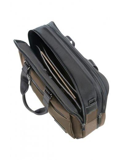 Openroad Bailhandle Expandable 39.6cm/15.6inch Jet Browen - Men's business bags