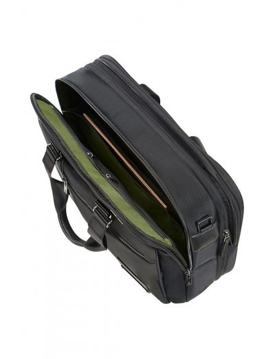 Openroad Bailhandle Expandable 39.6cm/15.6inch Jet Black - Men's bags