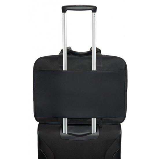 Openroad Bailhandle Expandable 39.6cm/15.6inch Jet Black