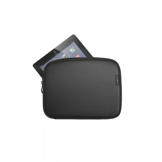 Black Laptop Sleeve type folder iPad 9.7