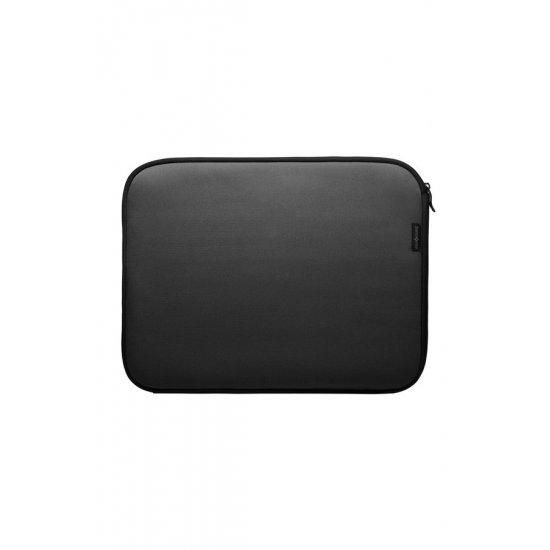 "Черен калъф-протектор тип ""папка' за лаптоп 15.6 инча"