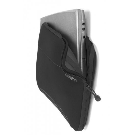Black laptop sleeve 18.4