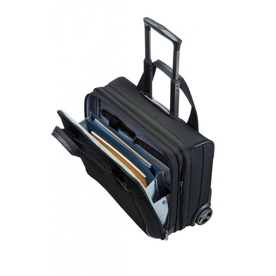 Black Rolling Tote 17.3