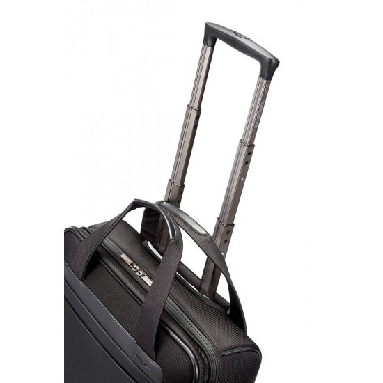 Black business case with wheels, 15.6'' laptop Spectrolite