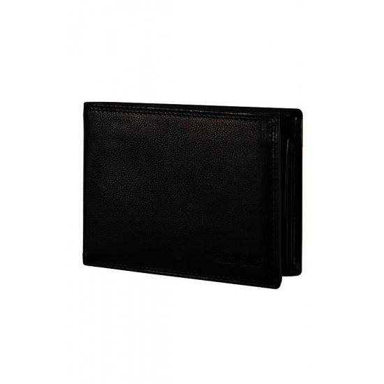 Attack Slg Billfold 7cc + VFlap + Coin + 2C + W Black