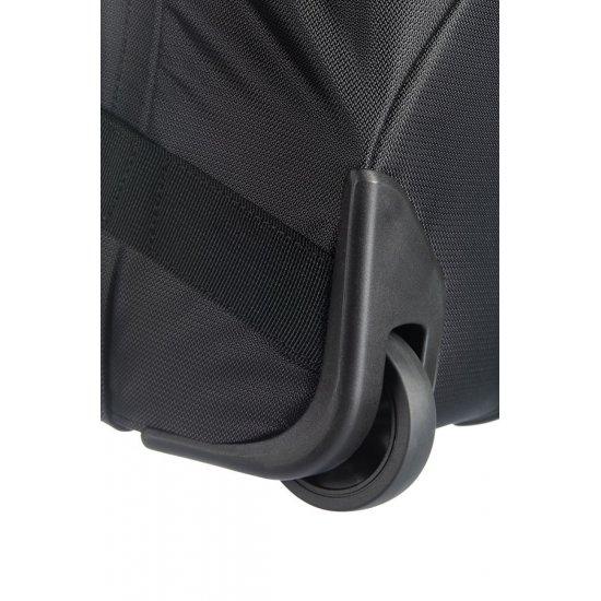 Black duffle on 2 wheels Univ-Lite 65 cm.