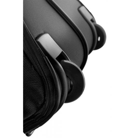 Черен сак на колела 55 см Duo Plyer