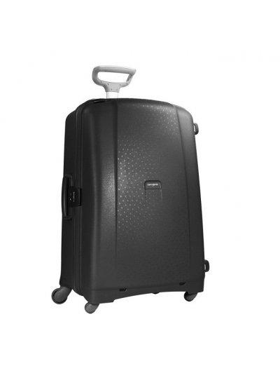 Black Spinner on 4 wheels Aeris 81cm. - Large suitcases