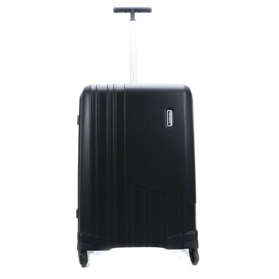 Черен спинер на 4 колела за ръчен багаж X-Pertiz 55 см