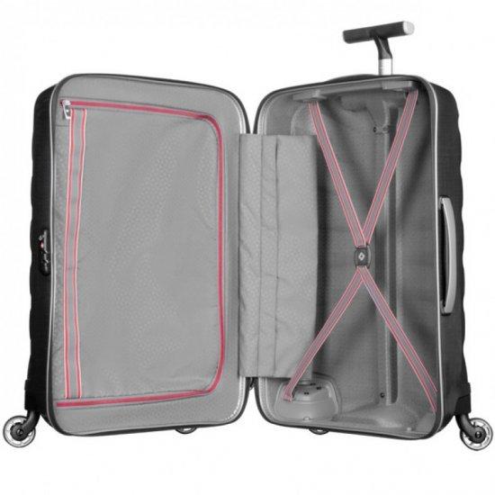 Черен спинер за ръчен багаж 55 см Firelite