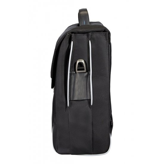 Balack business bag with 3 compartments Spectrolite
