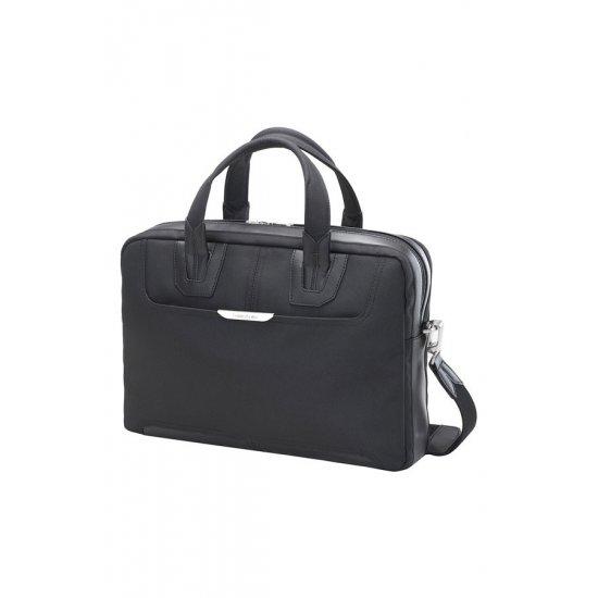 Черна бизнес чанта  за 15.6 инча лаптоп Sidaho, размер S