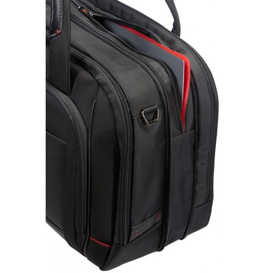 Pro-DLX″ Laptop Bailhandle Expandable L 40.6cm/16inch Black