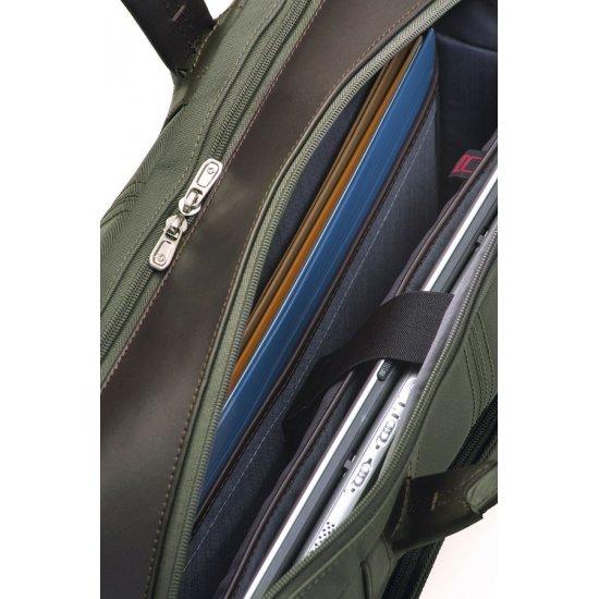 Green Briefcase Gusset 17