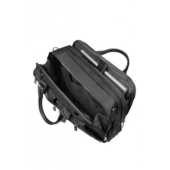 Black laptop bag 15.6