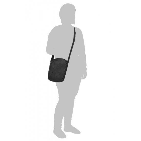 Черна чанта за рамо за 9,7 инча таблет Duo Plyer