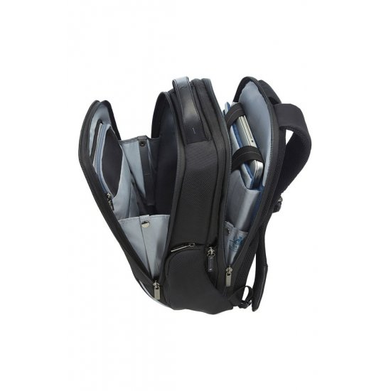 Balack backpack 14.1'' inch. laptop compartment Spectrolite expandable