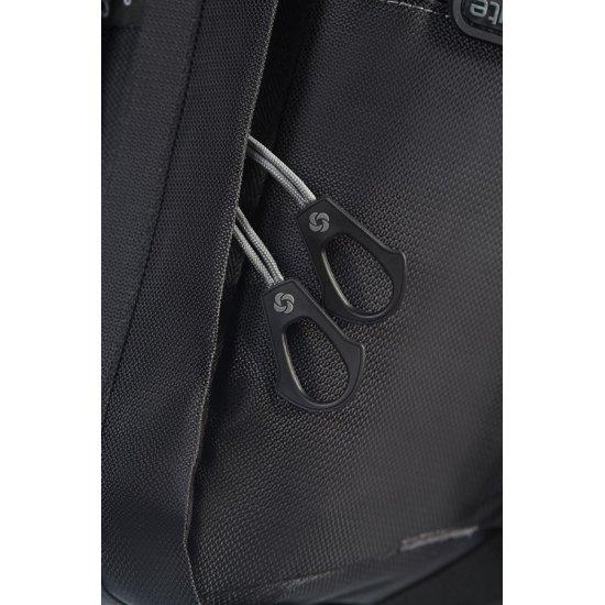 Черна раница за 15,4 инча лаптоп Univ-Lite,  размер М