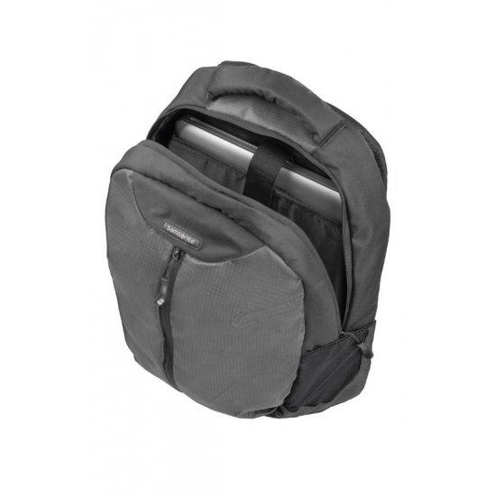 Black backpack for 16.4