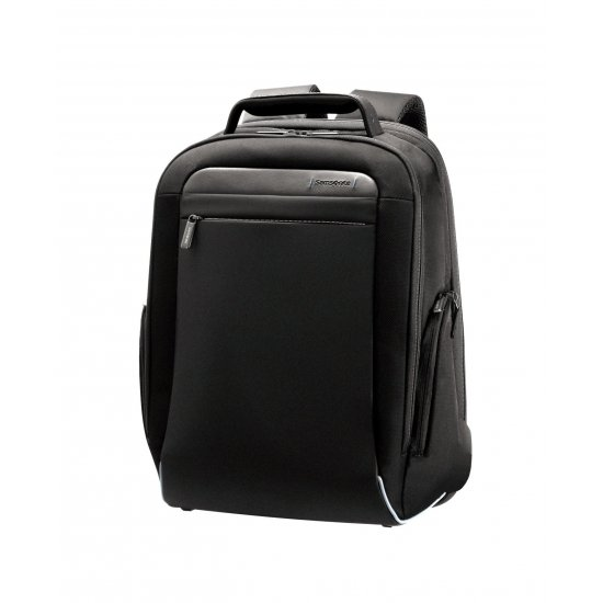 Black backpack 16'' inch. laptop compartment Spectrolite expandable