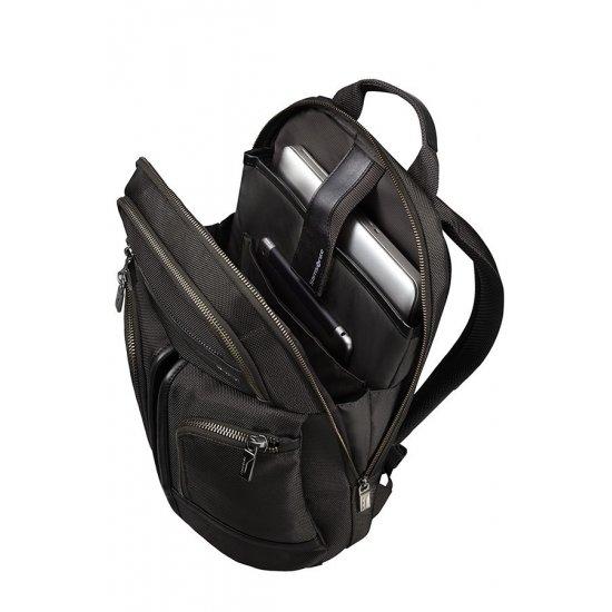 Black laptop backpack 14.1