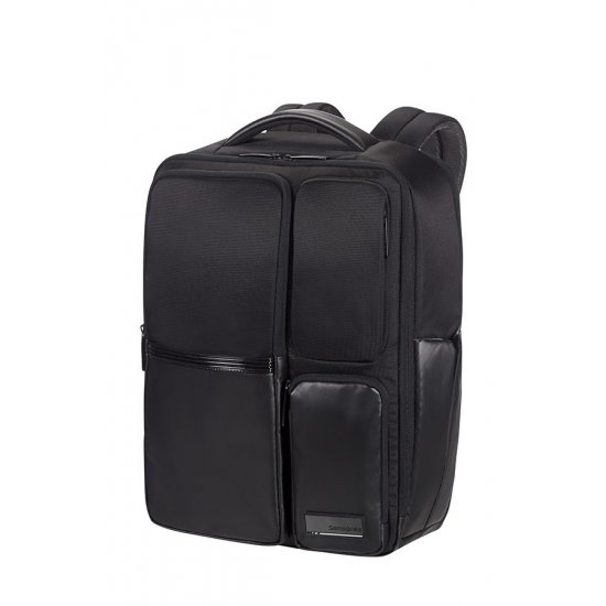 Cityscape Style Laptop Backpack Expandable /14inch