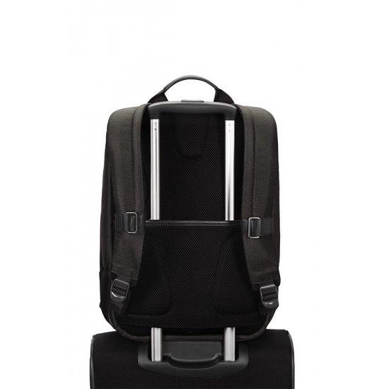 Black laptop backpack 15.6