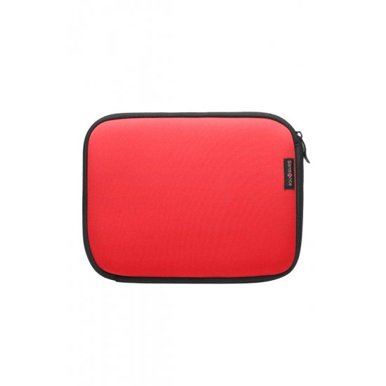 Red Laptop Sleeve type folder for an iPad 9.7
