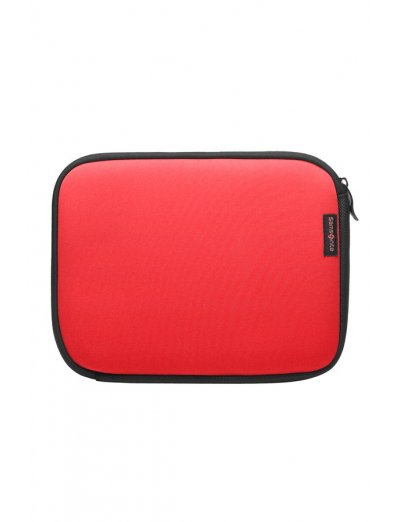 Red Laptop Sleeve type folder for a netbook 10.2 - Tablet cases