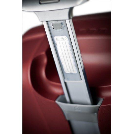 Червен куфар на 2 колела Aeris Comfort 71cm