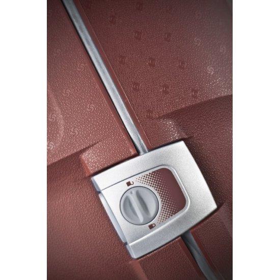 Червен куфар на 2 колела Aeris Comfort 78cm