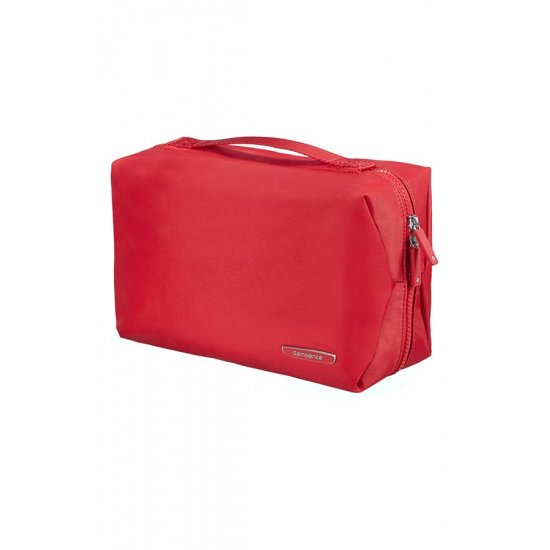 Modula Hanging Toiletry Bag True Red