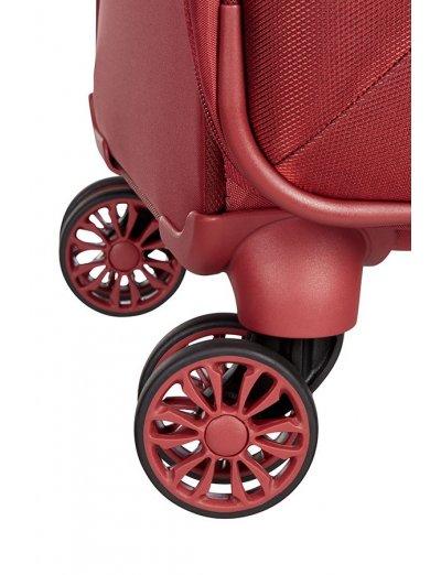 Red B-lite 3 Spinner on 4 wheels Expandable 63 cm. - B-Lite3