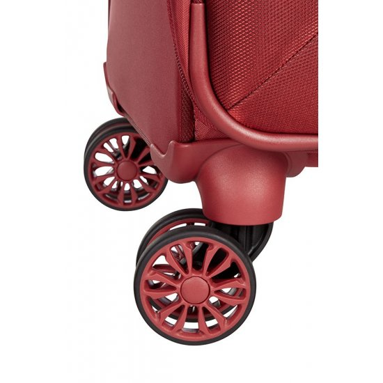 Red B-lite 3 Spinner on 4 wheels Expandable 63 cm.
