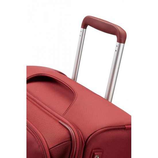 Red B-lite 3 Spinner on 4 wheels Expandable 63 cm.