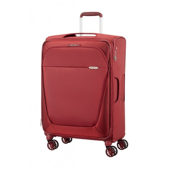 Red B-lite 3 Spinner on 4 wheels Expandable 71 cm.