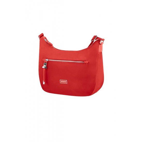 Karissa Hobo Bag M Formula Red