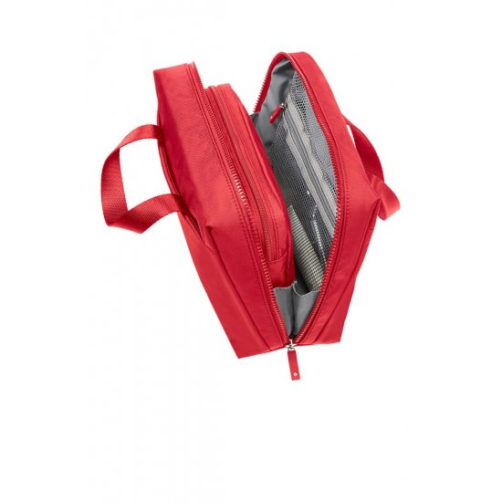 Modula Carry On Toiletry Bag True Red