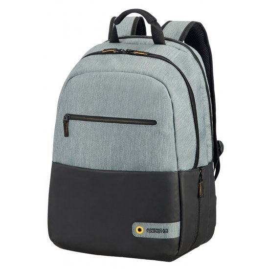 City Drift Laptop Backpack 39.6cm/15.6inch Black/Grey