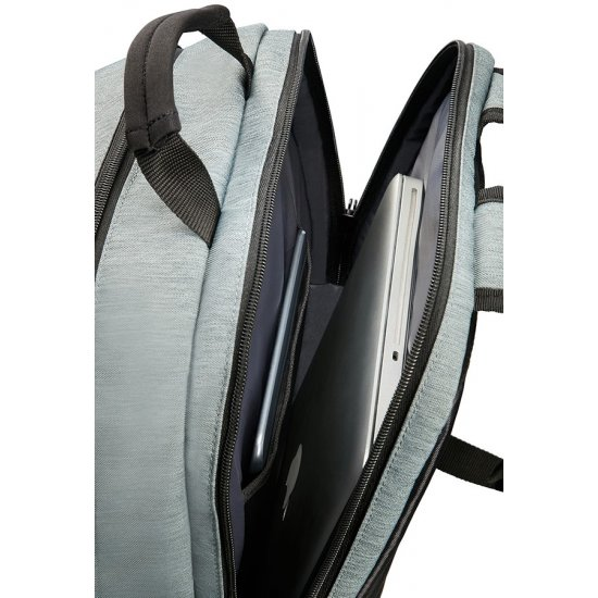 City Drift Laptop Backpack 39.6cm/15.6inch Black/Grey