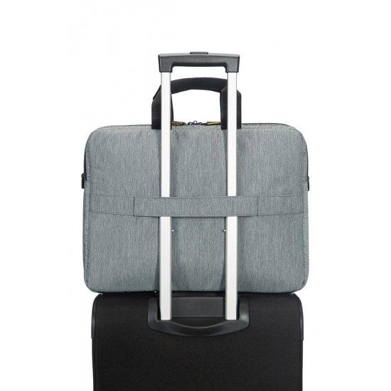 City Drift Laptop Bag 39.6cm/15.6inch Black/Grey