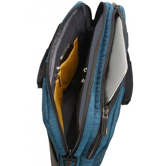 City Drift Laptop Bag 39.6cm/15.6inch Black/Blue