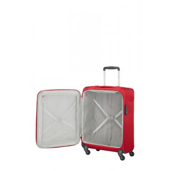 Citybeat Spinner with wheels 55cm Red