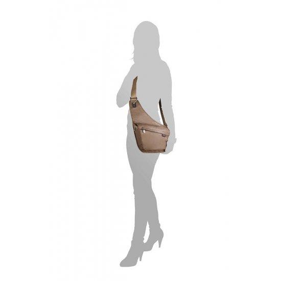 Дамска чанта Day Out за през рамо цвят тютюн