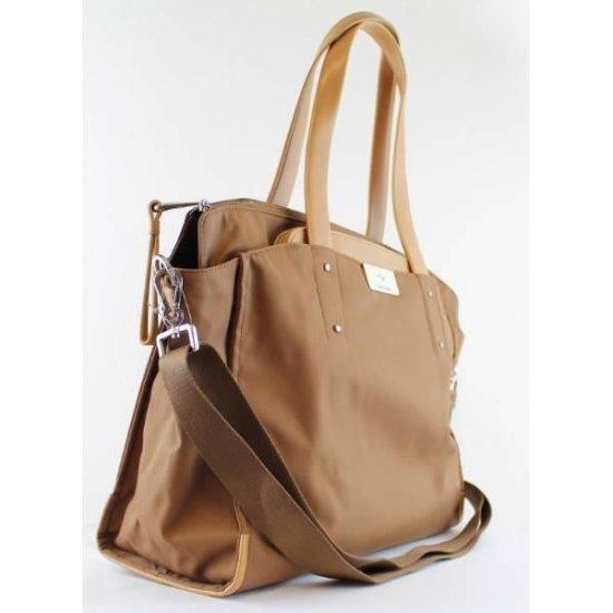 Дамска чанта за 15,6 инча лаптоп Lady Biz II цвят тютюн